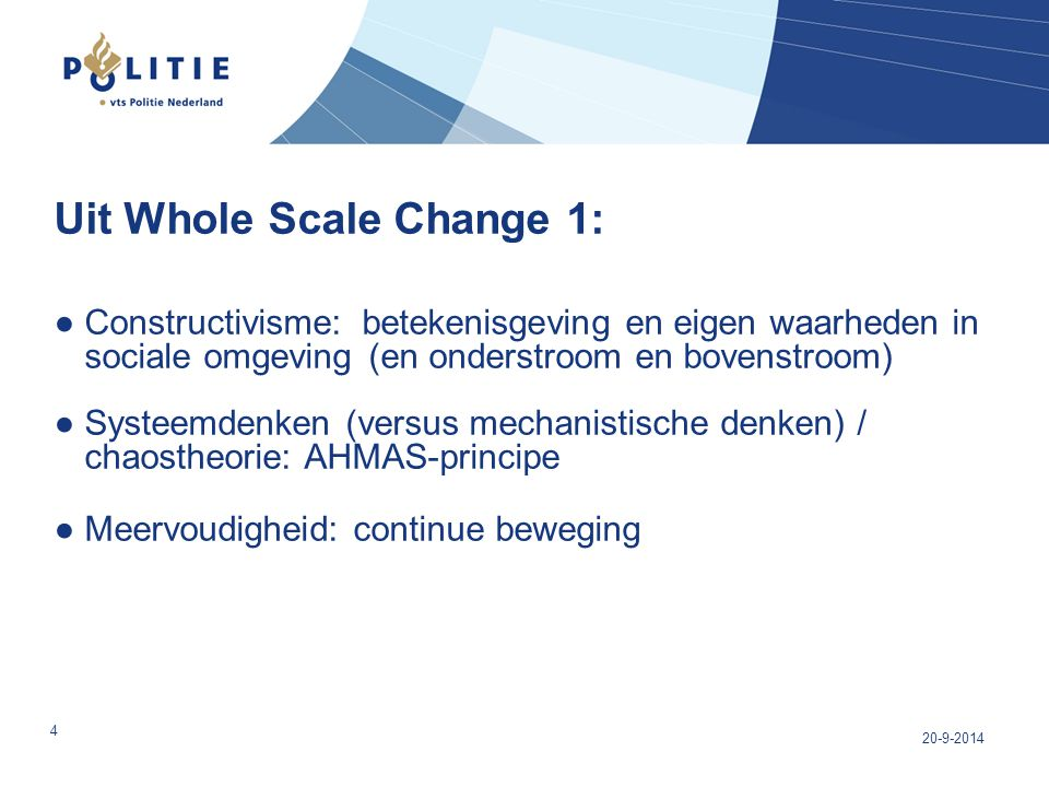 Uit Whole Scale Change 1: ●