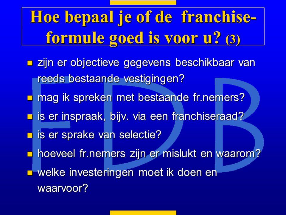 Hoe bepaal je of de franchise-formule goed is voor u (3)
