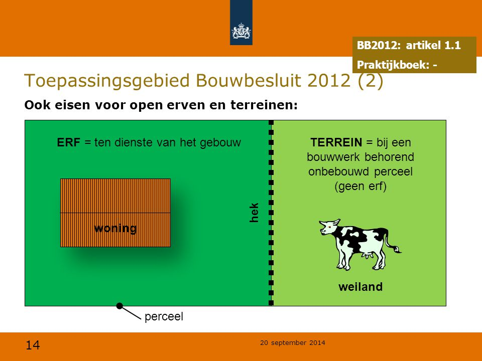 Toepassingsgebied Bouwbesluit 2012 (2)