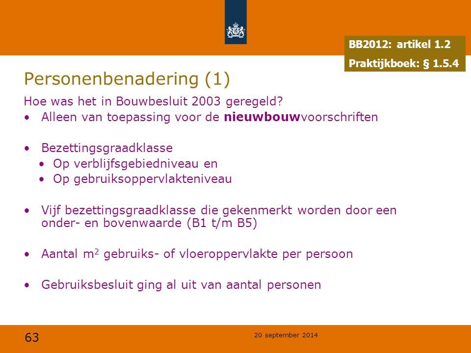 Personenbenadering (1)