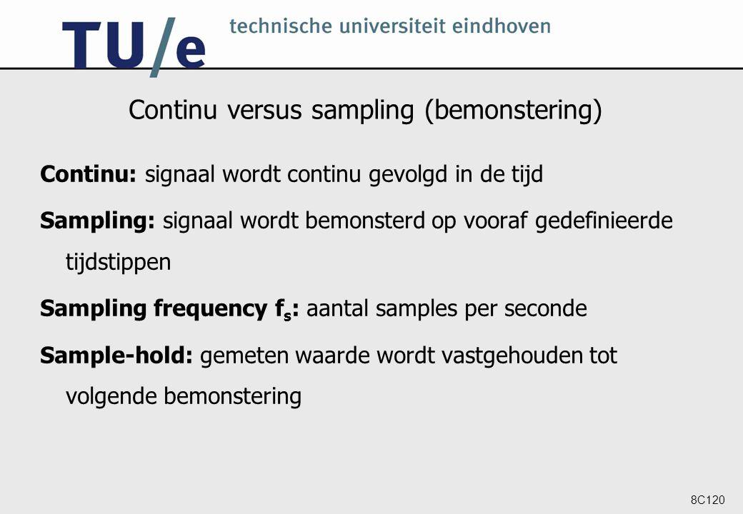 Continu versus sampling (bemonstering)