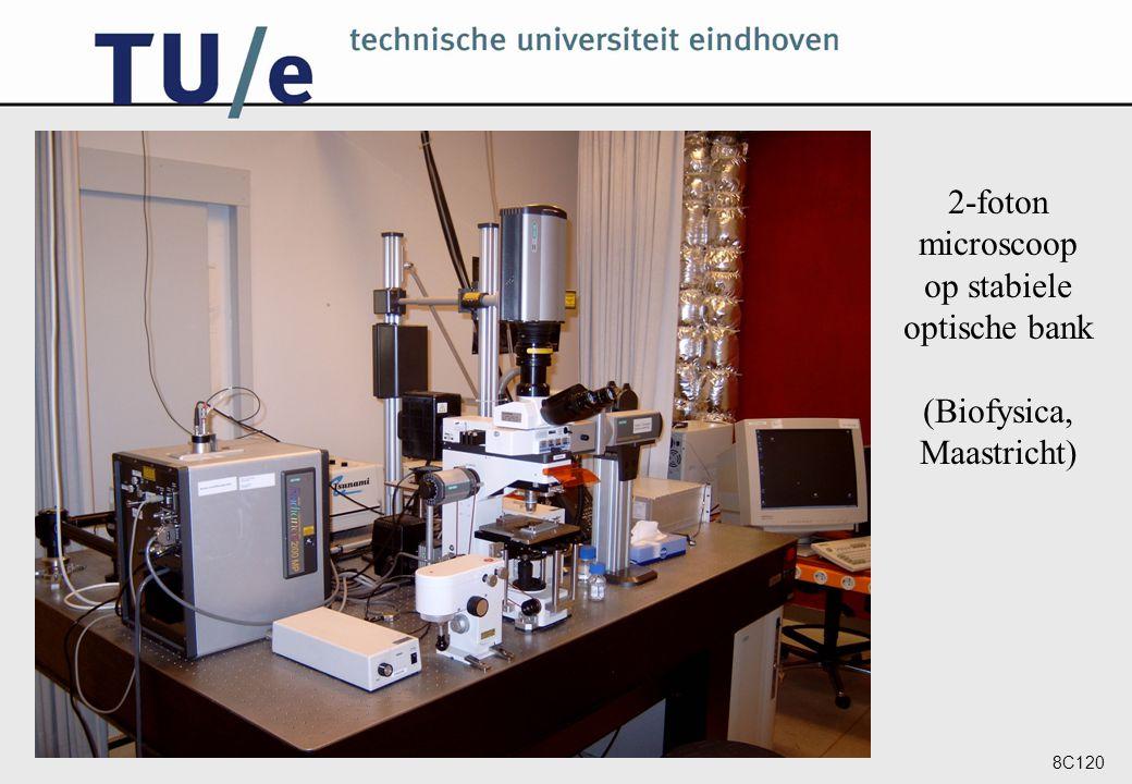 2-foton microscoop op stabiele optische bank (Biofysica, Maastricht)
