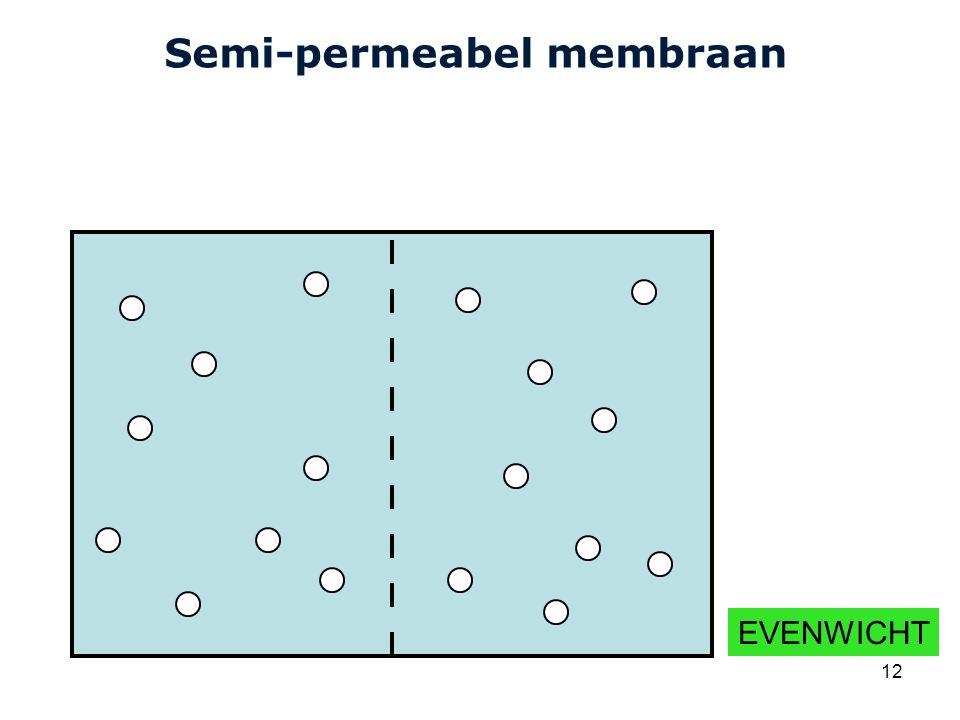 Semi-permeabel membraan