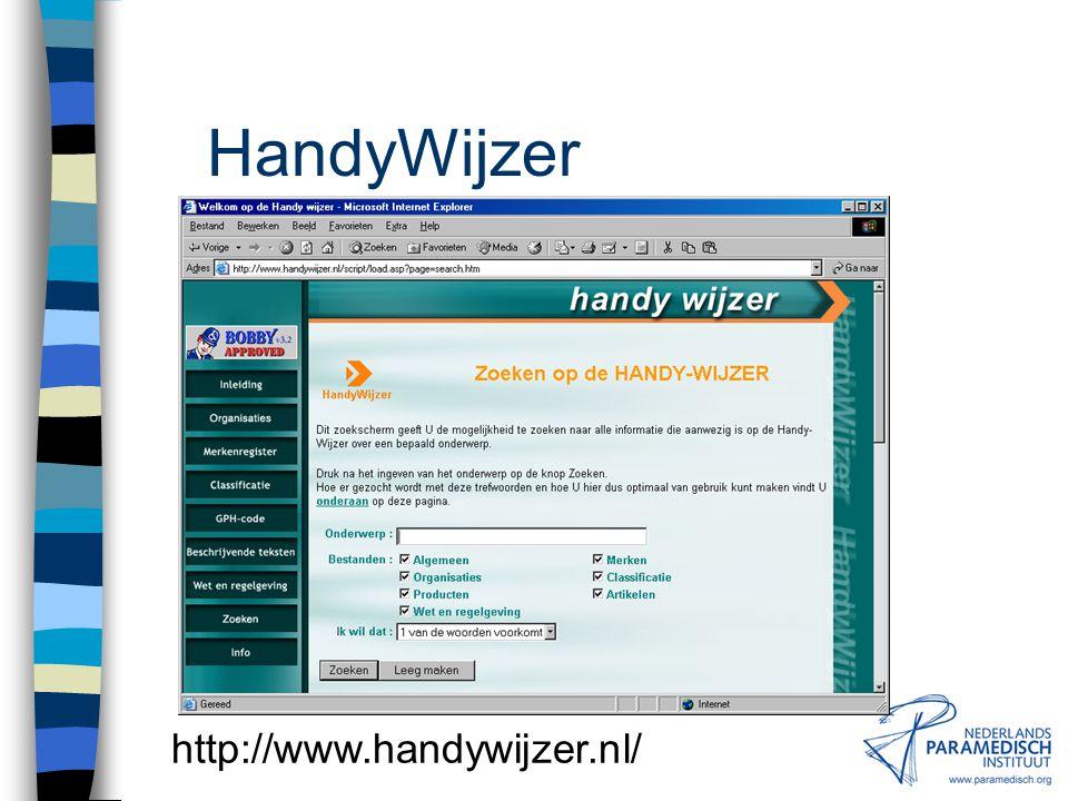HandyWijzer http://www.handywijzer.nl/