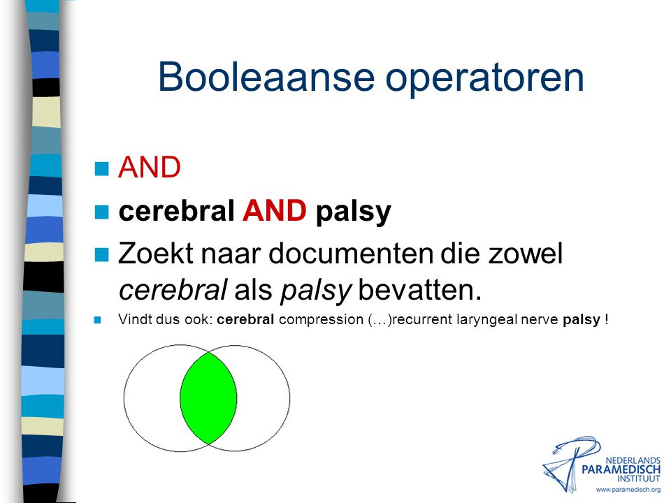 Booleaanse operatoren
