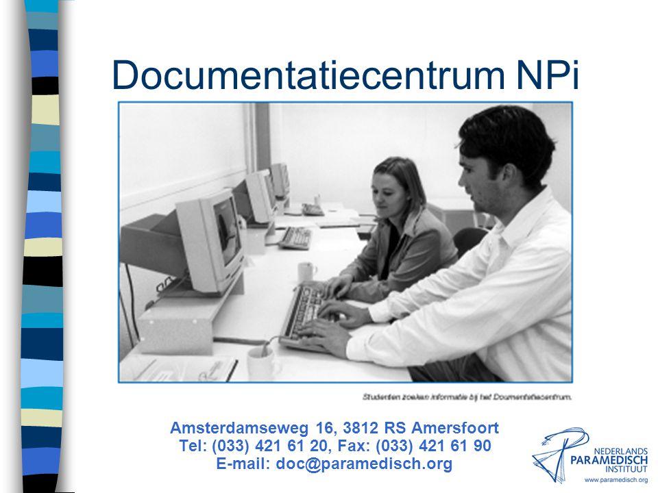 Documentatiecentrum NPi