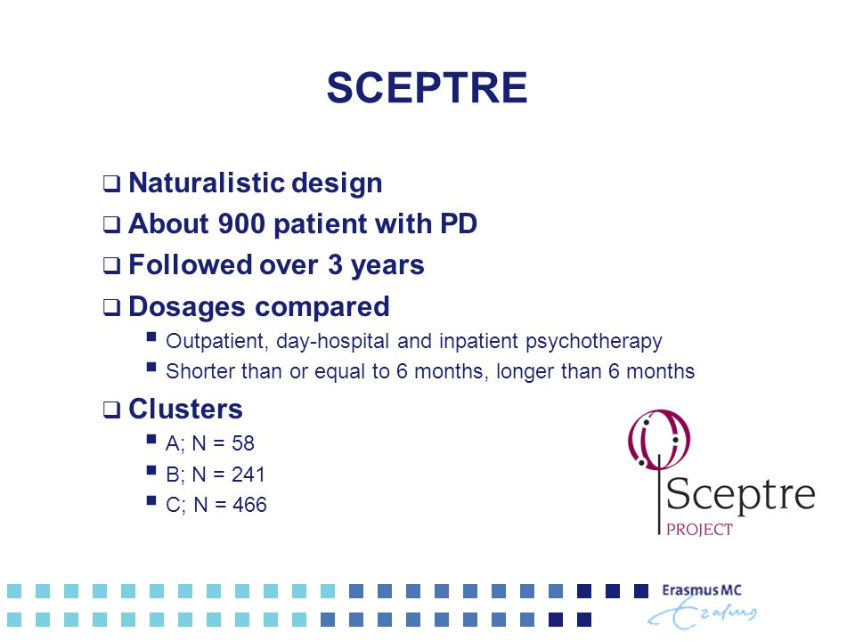 SCEPTRE Naturalistic design About 900 patient with PD