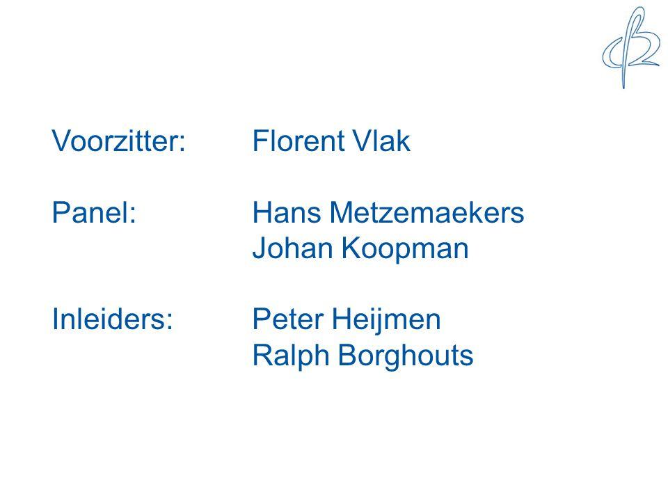 Voorzitter: Florent Vlak