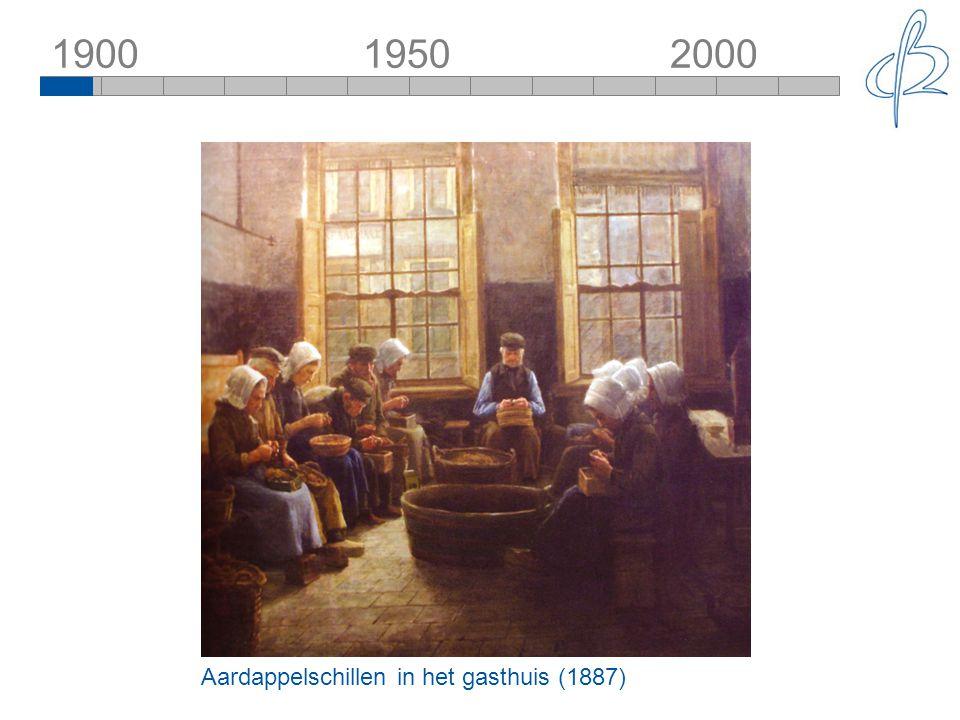 1900 1950 2000 Aardappelschillen in het gasthuis (1887)