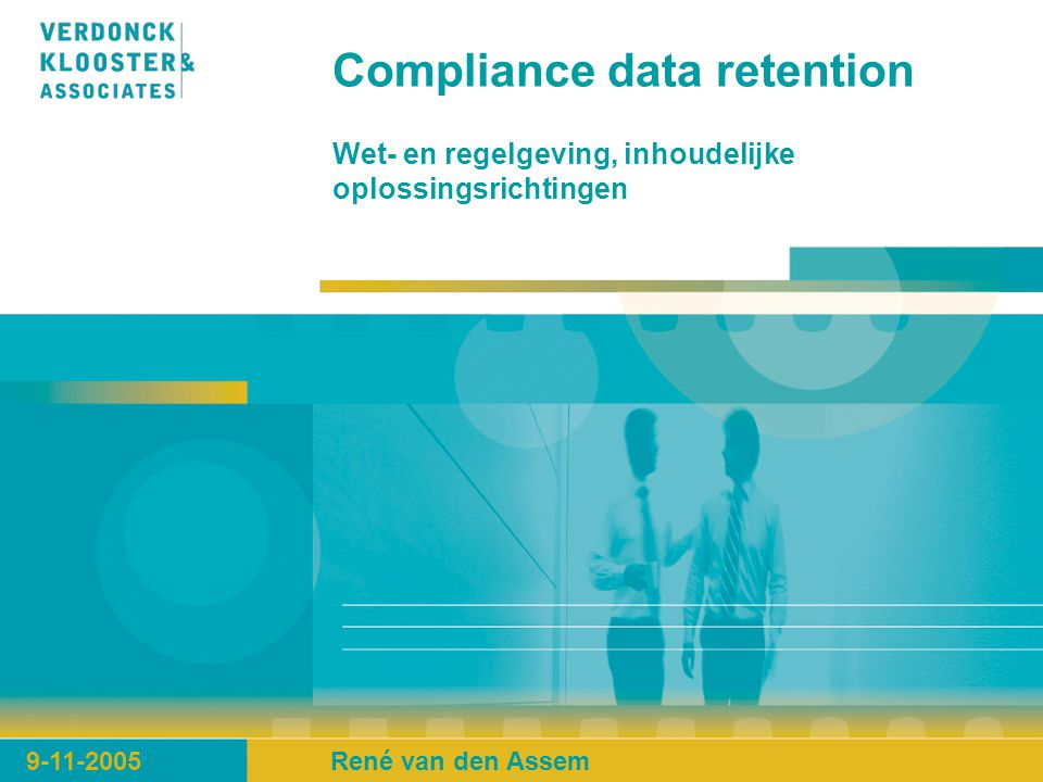 Compliance data retention