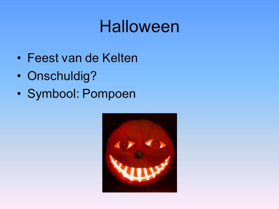 Halloween Feest van de Kelten Onschuldig Symbool: Pompoen