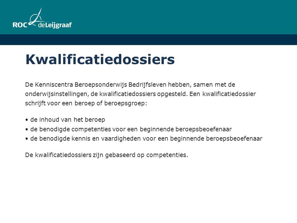 Kwalificatiedossiers