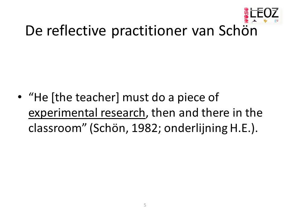 De reflective practitioner van Schön