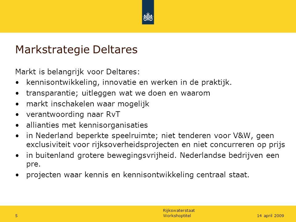Markstrategie Deltares