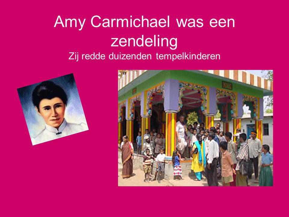 Amy Carmichael was een zendeling Zij redde duizenden tempelkinderen