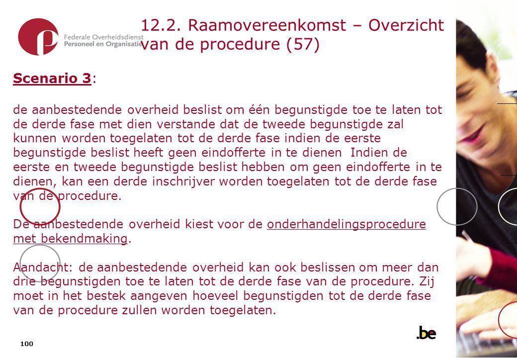 12.1. Raamovereenkomst – Overzicht van de procedure (58)