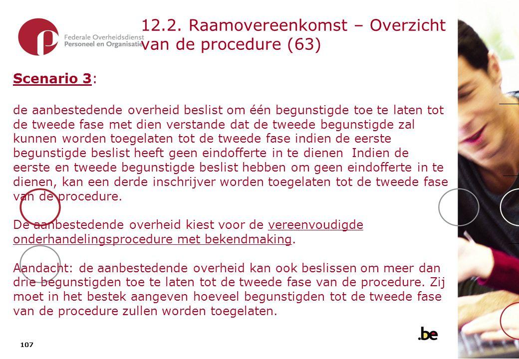 12.1. Raamovereenkomst – Overzicht van de procedure (64)