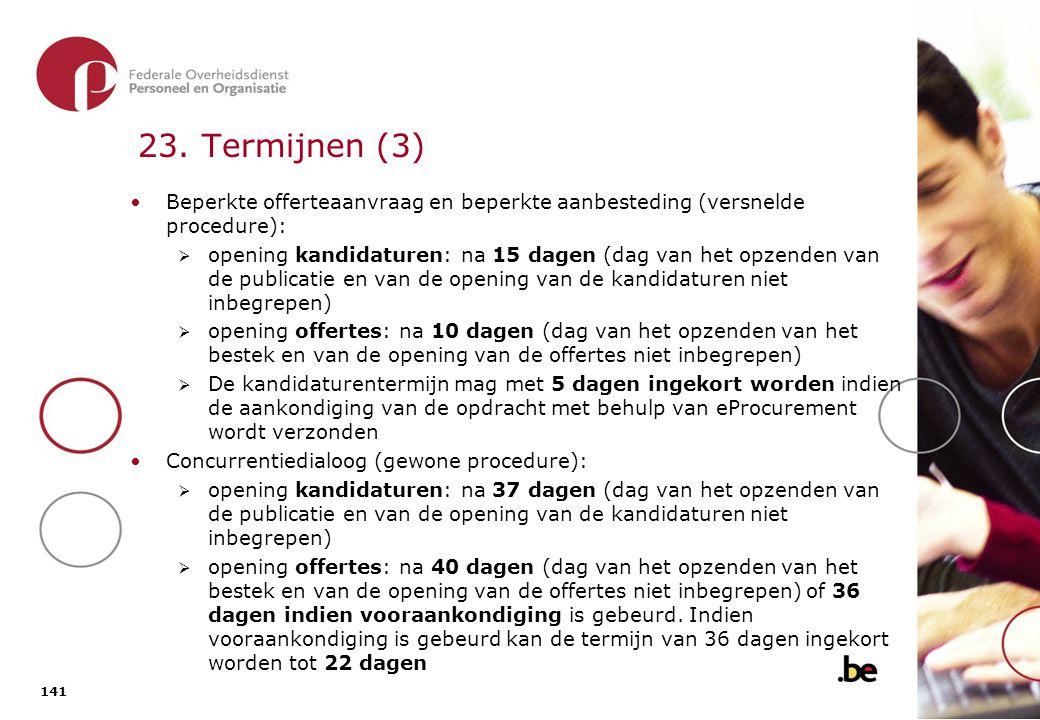 23. Termijnen (4)