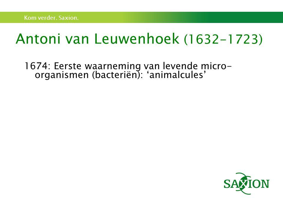 Antoni van Leuwenhoek (1632-1723)