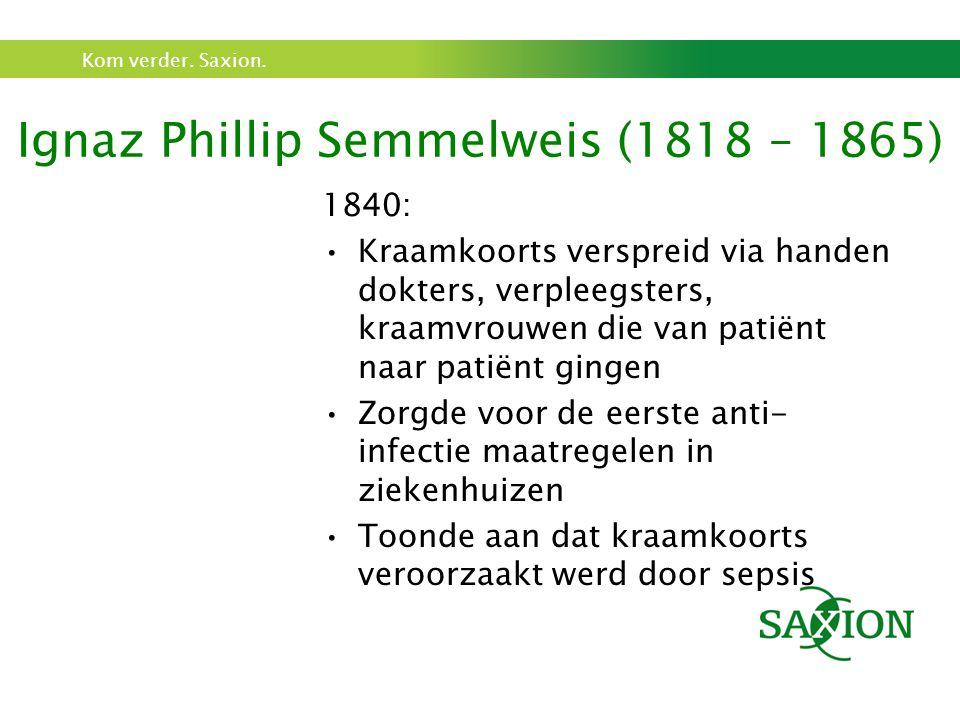 Ignaz Phillip Semmelweis (1818 – 1865)