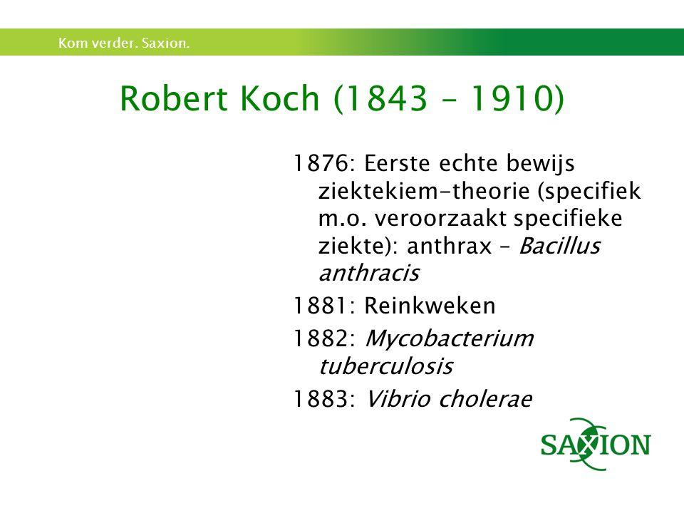 Robert Koch (1843 – 1910)