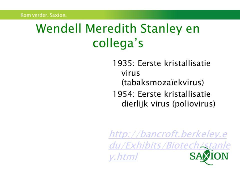Wendell Meredith Stanley en collega's