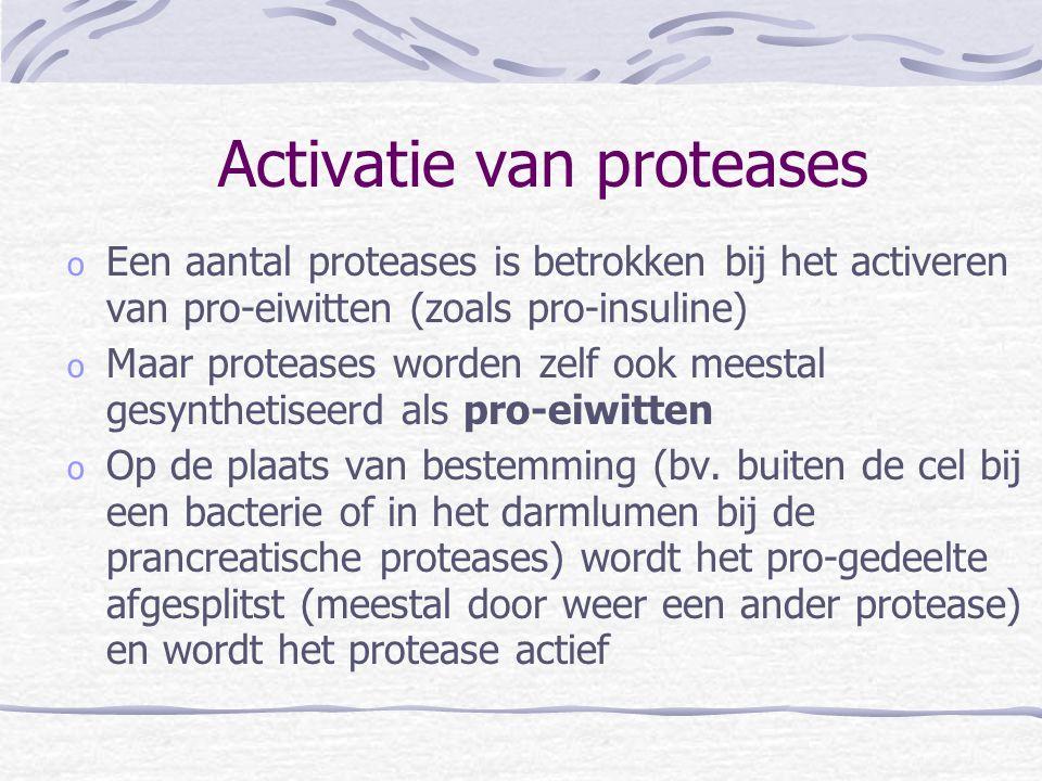 Activatie van proteases
