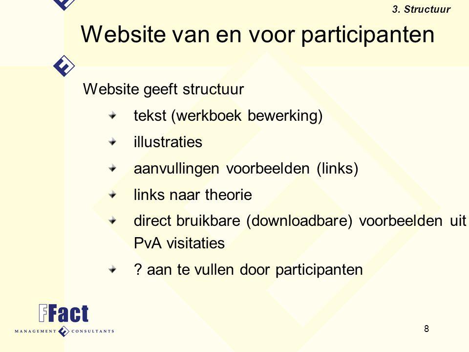 Website van en voor participanten