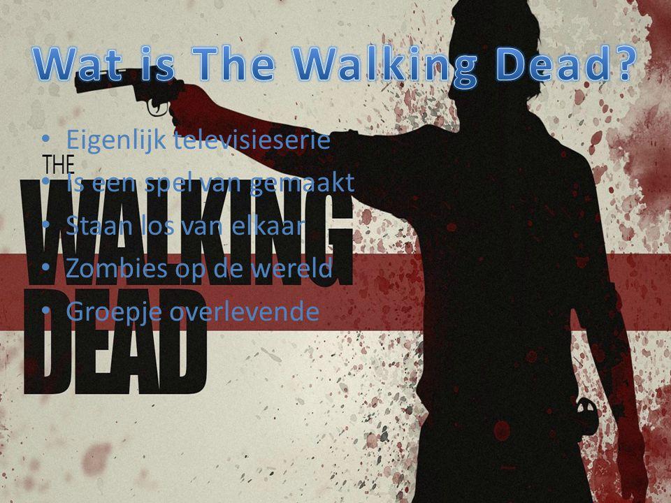 Wat is The Walking Dead Eigenlijk televisieserie