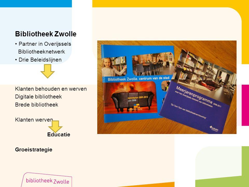 Bibliotheek Zwolle Partner in Overijssels Bibliotheeknetwerk