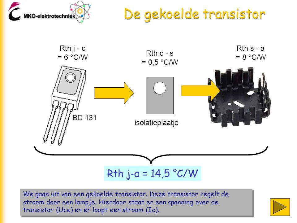 De gekoelde transistor