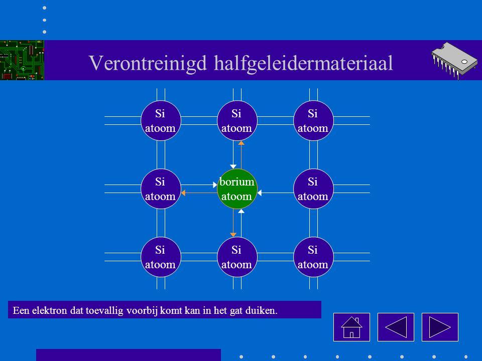 Verontreinigd halfgeleidermateriaal
