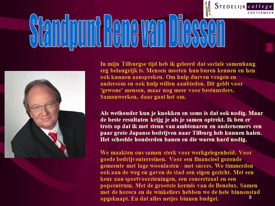 Standpunt Rene van Diessen
