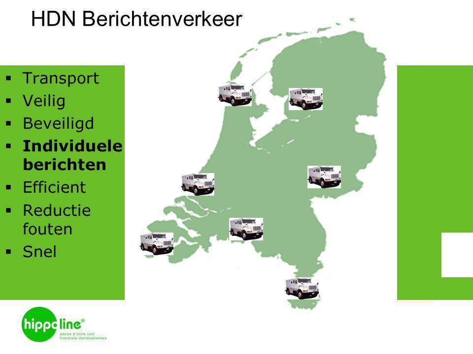 HDN Berichtenverkeer Transport Veilig Beveiligd Individuele berichten