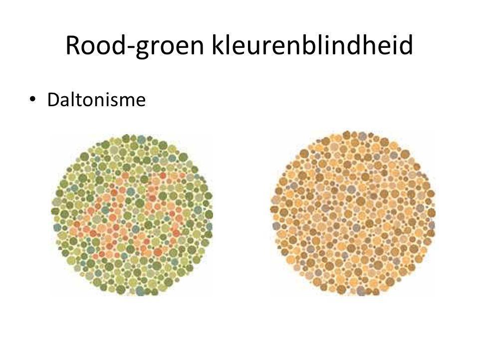 Rood-groen kleurenblindheid