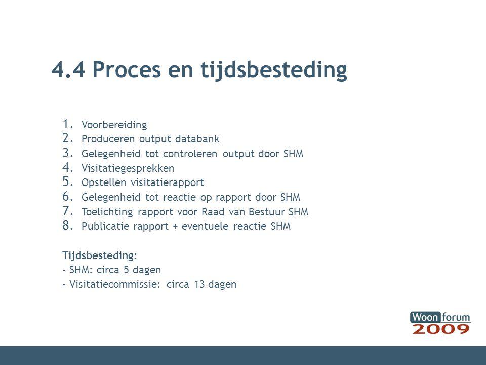 4.4 Proces en tijdsbesteding
