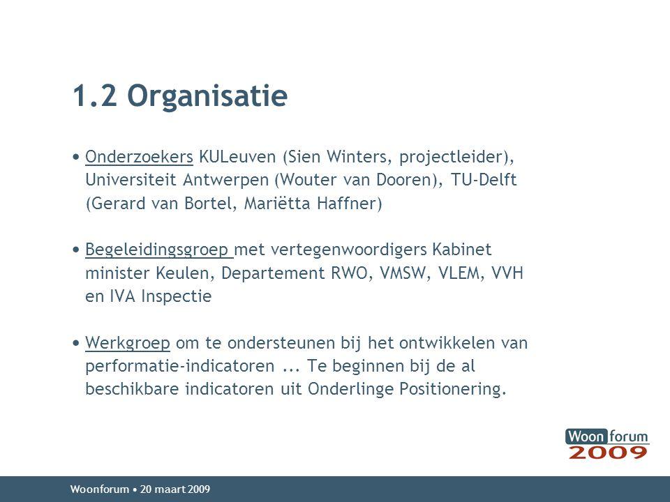 1.2 Organisatie