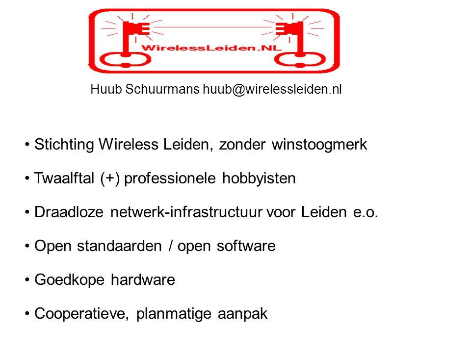 Huub Schuurmans huub@wirelessleiden.nl