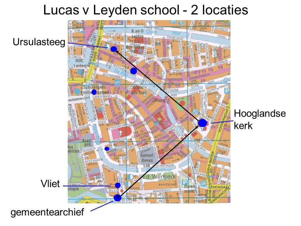 Lucas v Leyden school - 2 locaties