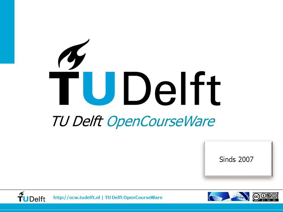 TU Delft OpenCourseWare