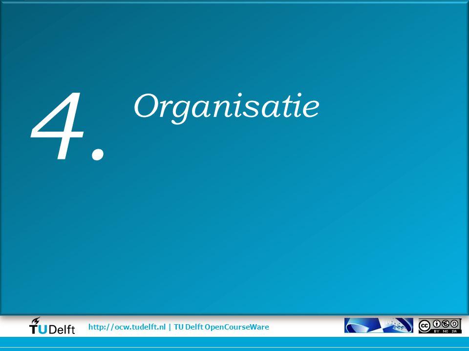 4. Organisatie