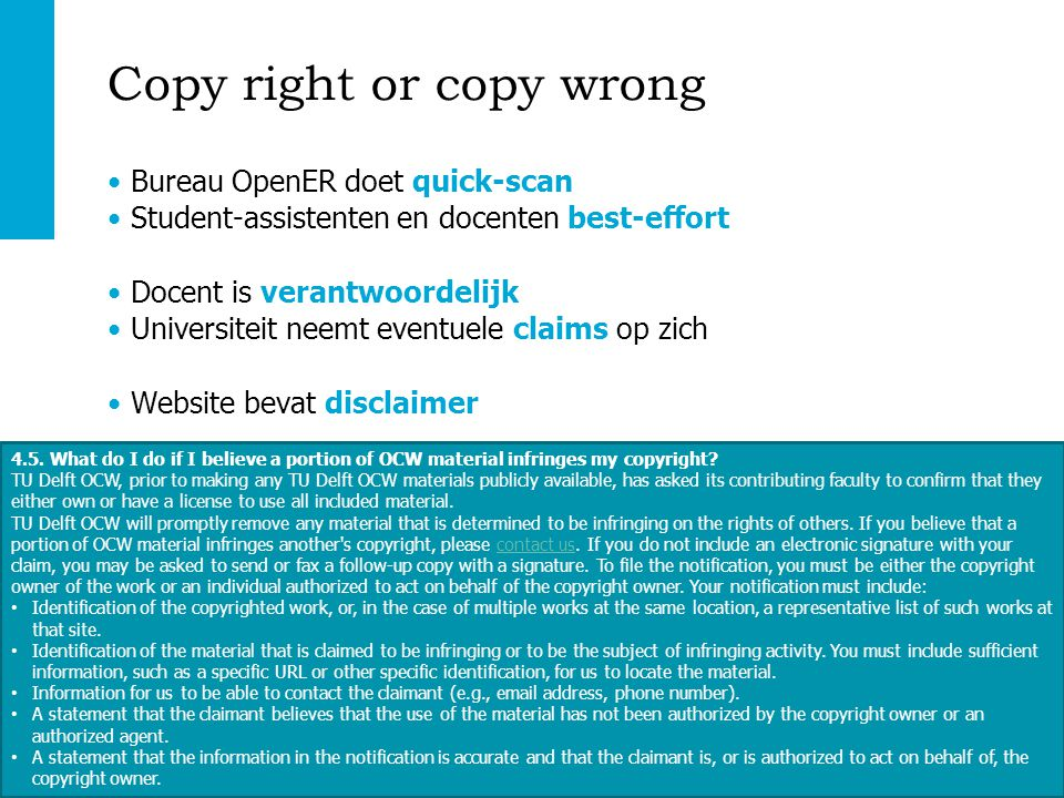 Copy right or copy wrong