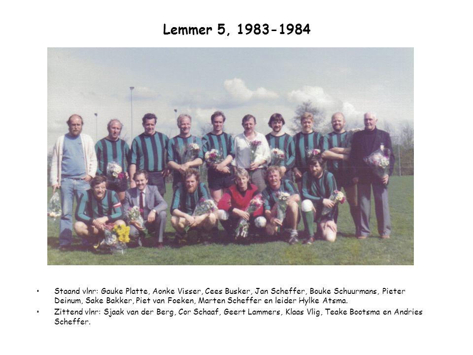 Lemmer 5, 1983-1984
