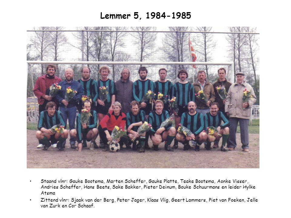 Lemmer 5, 1984-1985