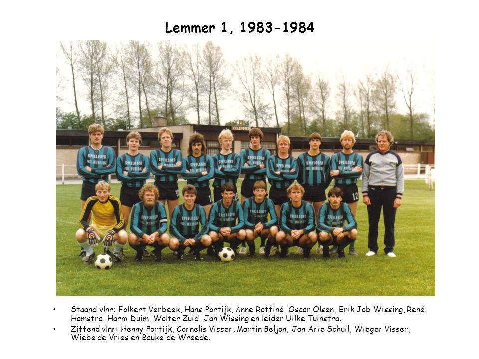 Lemmer 1, 1983-1984