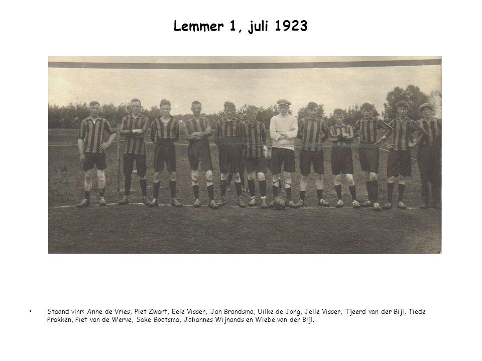 Lemmer 1, juli 1923