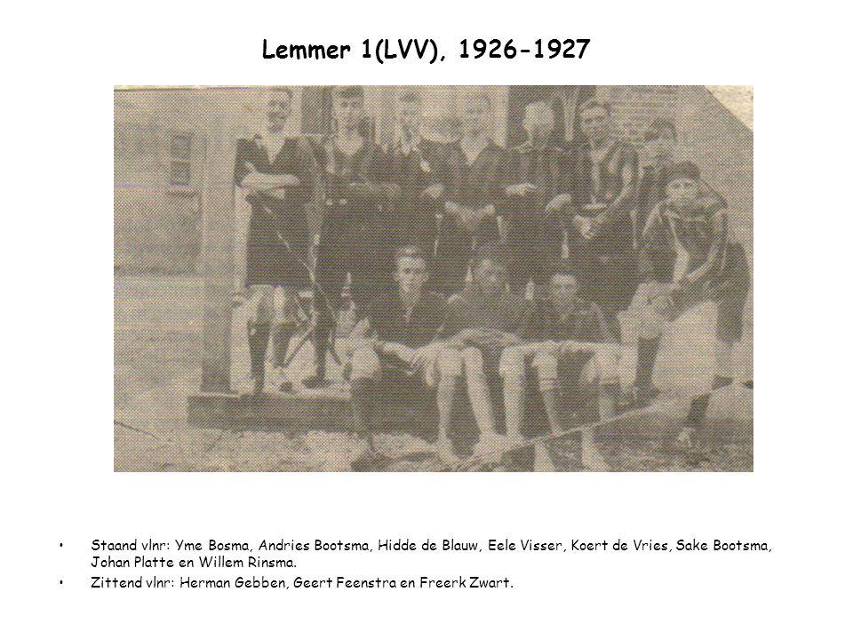 Lemmer 1(LVV), 1926-1927