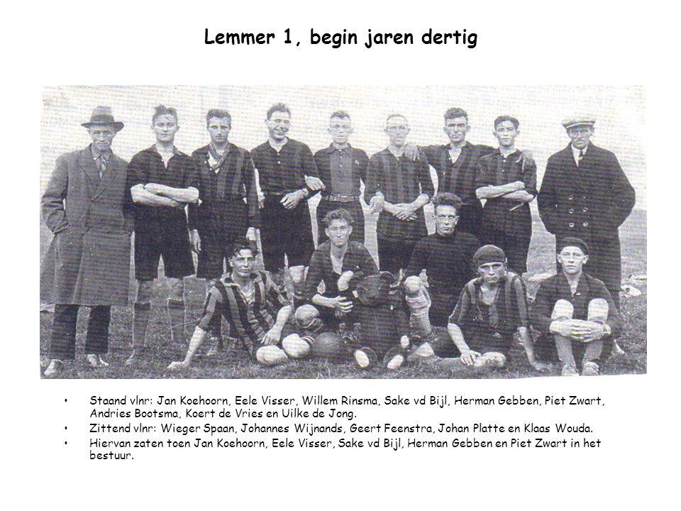 Lemmer 1, begin jaren dertig