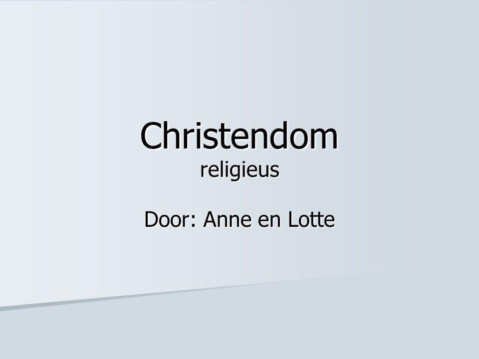 Christendom religieus