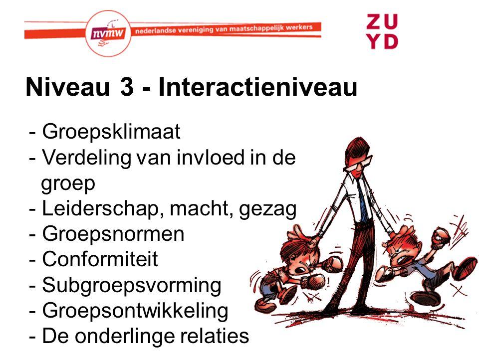 Niveau 3 - Interactieniveau